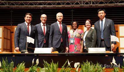 Международная федерация студенческого спорта (FISU) приняла новую конституцию организации