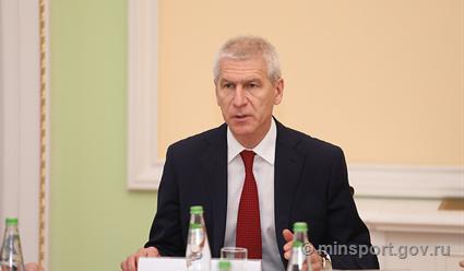 Олег Матыцин: В настоящее время в российском спорте задействовано чуть более 94 тысяч тренеров