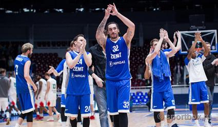 Баскетболисты «Зенита» в гостях проиграли «Валенсии» в Кубке Европы