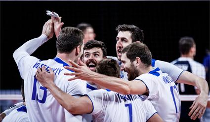 Сборная России обыграла команду Италии в матче Лиги наций по волейболу